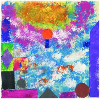 """""""Multicolore"""" Martina, 9 anni"""