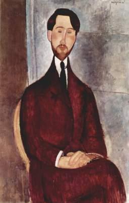 Amedeo Modigliani, Ritratto di Leopold Zborowski
