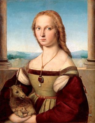 Raffaello, Dama con Liocorno