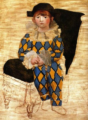 Pablo Picasso, L'arlecchino seduto